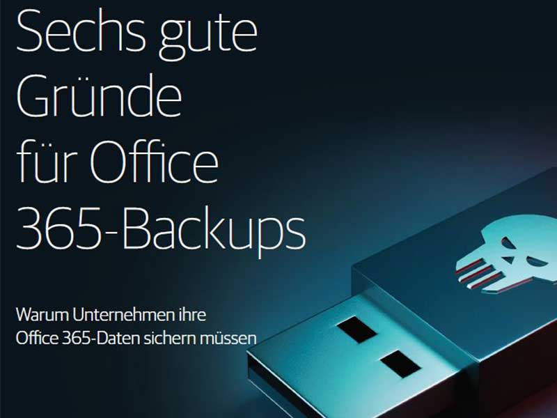 Whitepaper 6 Gruende für Office 365 Backups